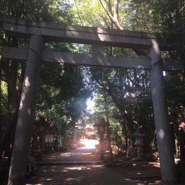 八幡神社に寄ってみたけども。勘が戻らなくて5分越え