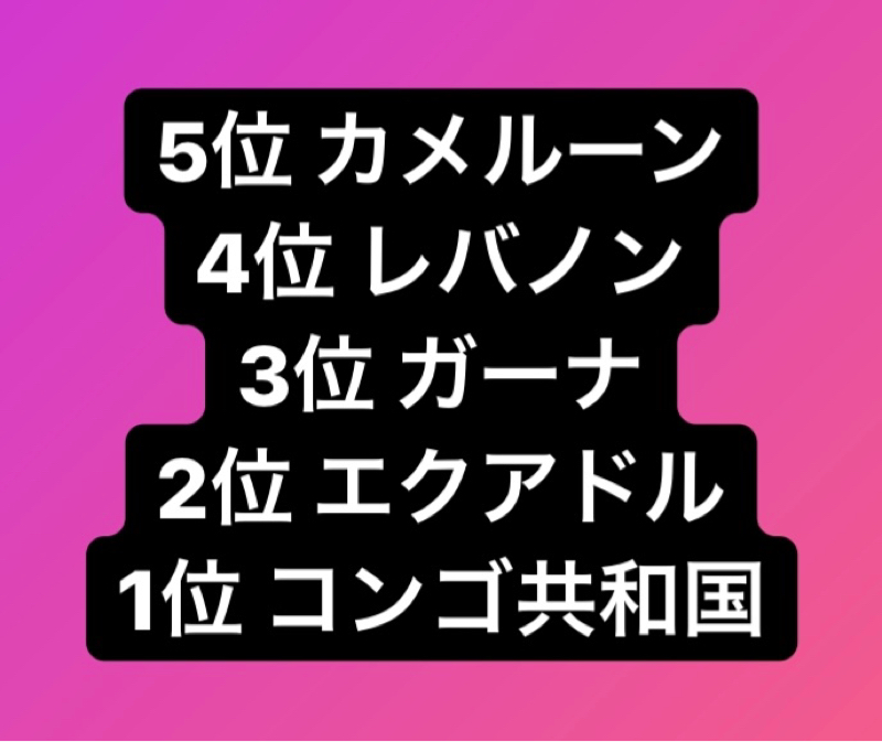 【クイズ】日本は12.17cmな〜んだ❓