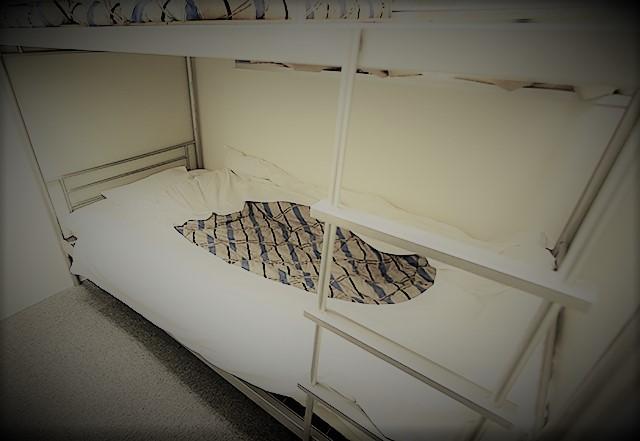 地下の仮眠室