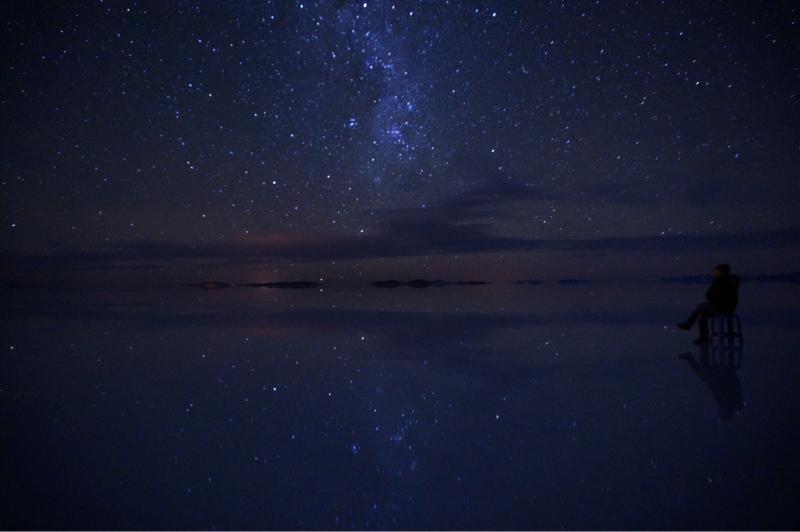 3.ボリビア🇧🇴ウユニの星空は宇宙です。