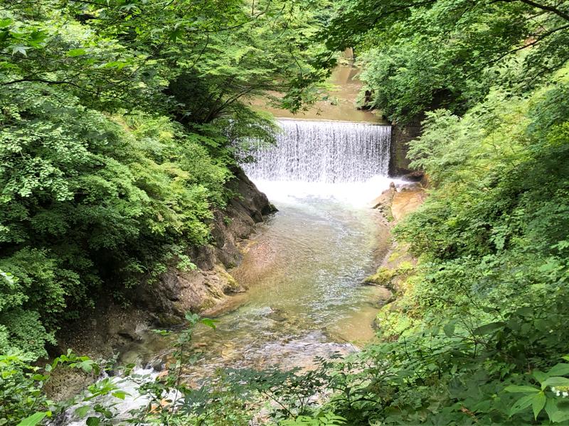 #14 鳴子峡の滝