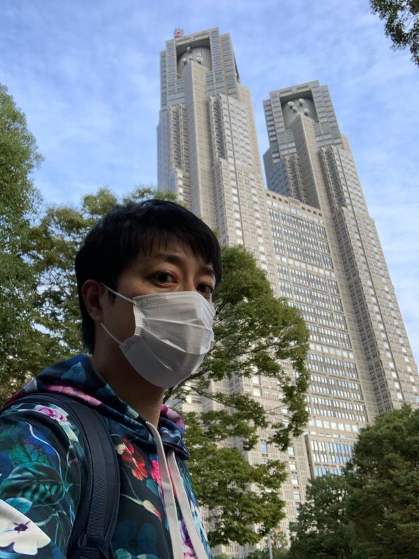 #182『新宿中央公園にて、見えていない部分』