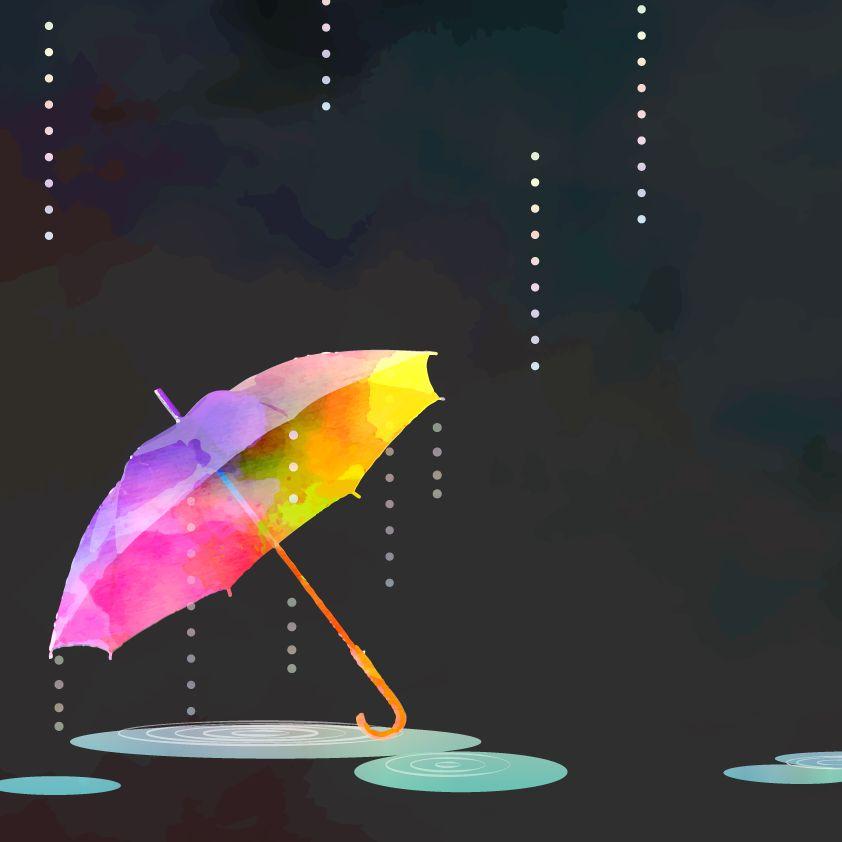 雨の日の、あの避けては通れない行為が大嫌いなの。そしてちょっと悪趣味な楽しみ方を(笑)