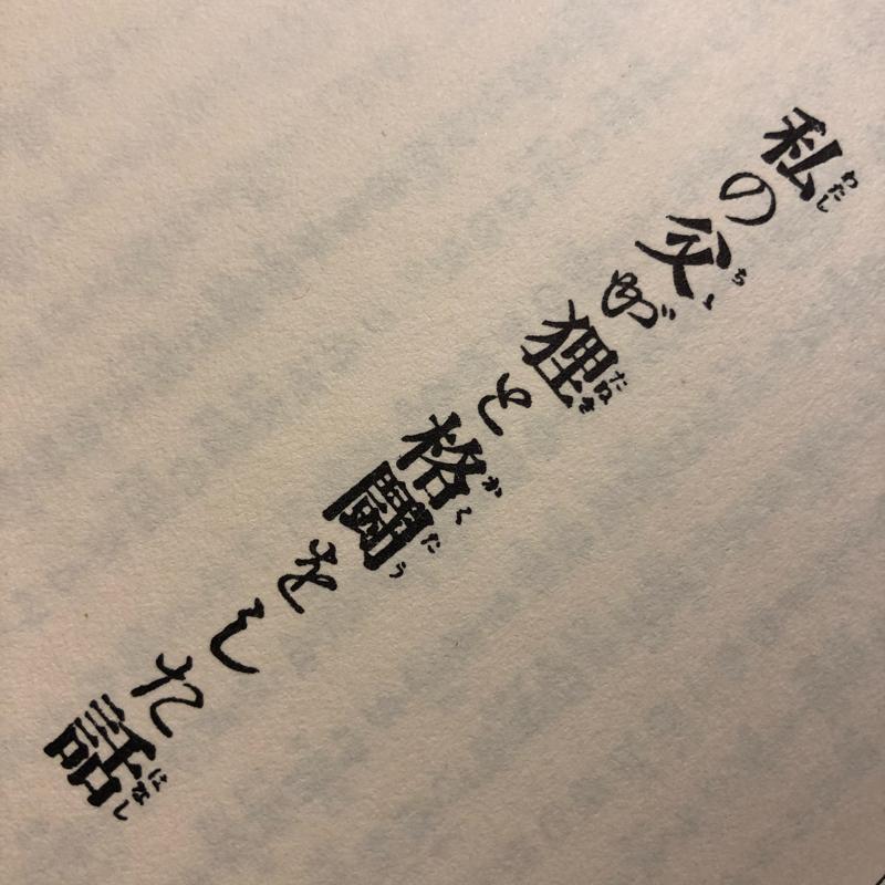 朗読「私の父が狸と格闘をした話」佐藤春夫