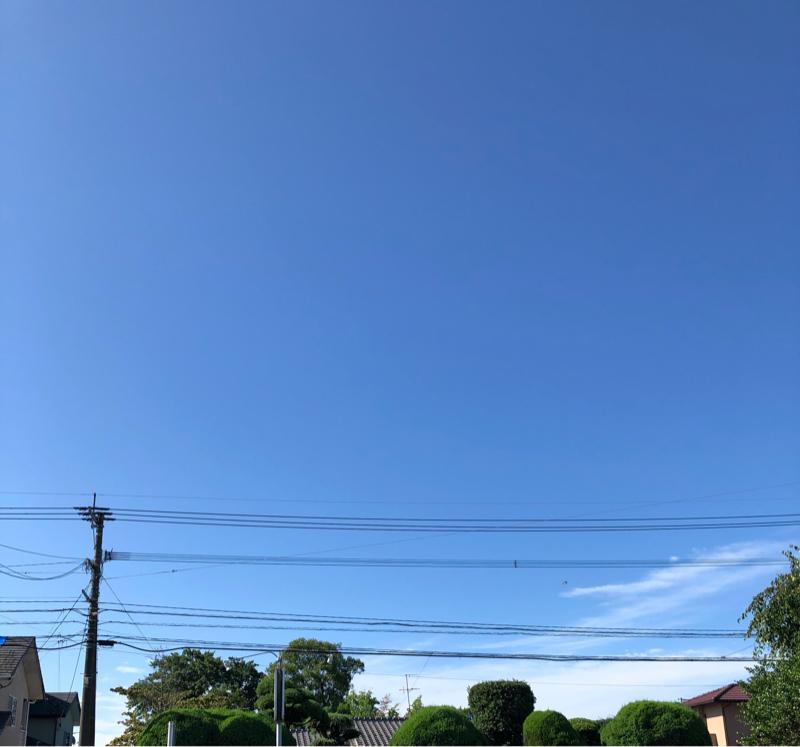 木曜日の朝の風景