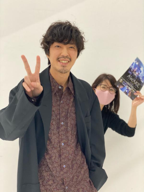 若葉竜也さんゲスト『AWAKE』撮影の思い出から憧れの先輩話まで。