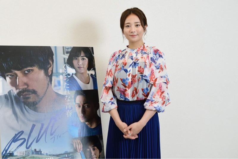 女優・木村文乃さん登場、映画『BLUE/ブルー』