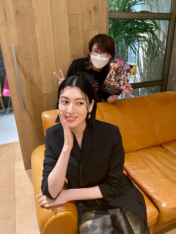 女優、モデルの三吉彩花監督が語る映画製作秘話