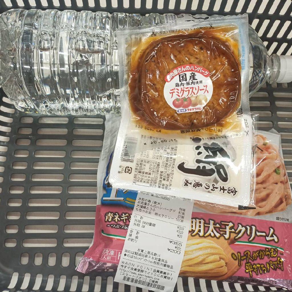 【今日もがんばった!】今日の晩飯【355円】