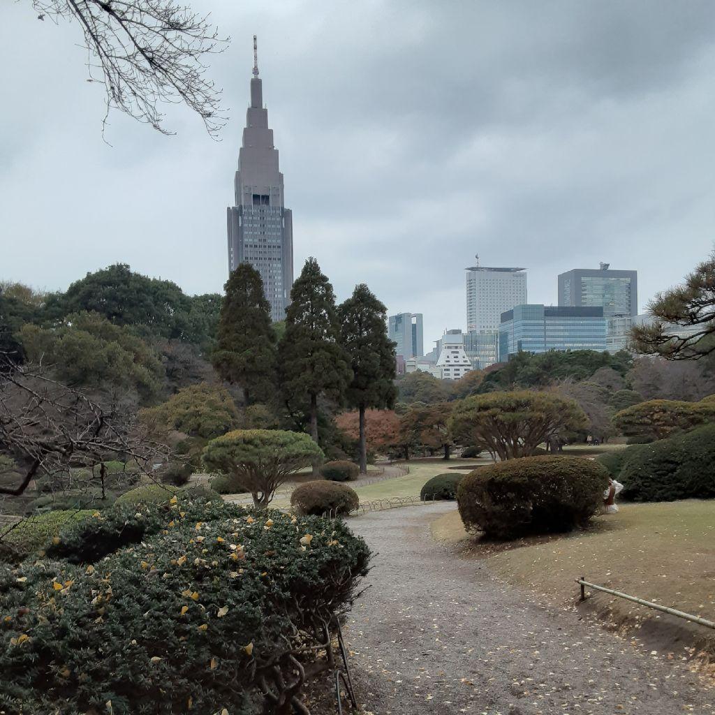 No.164 新宿御苑より