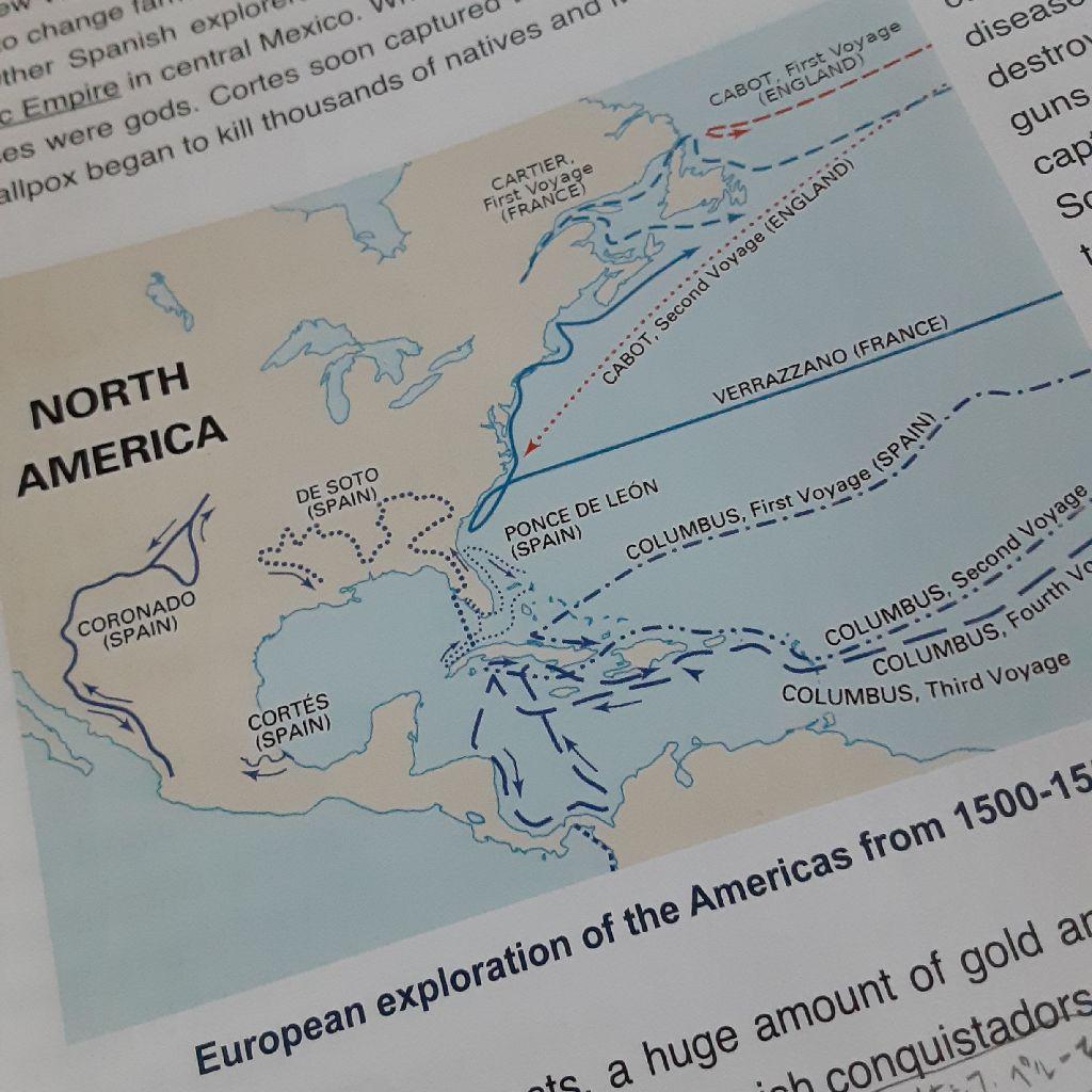 No.261 American studies〈予習〉~ヴァイキングとコロンブス~