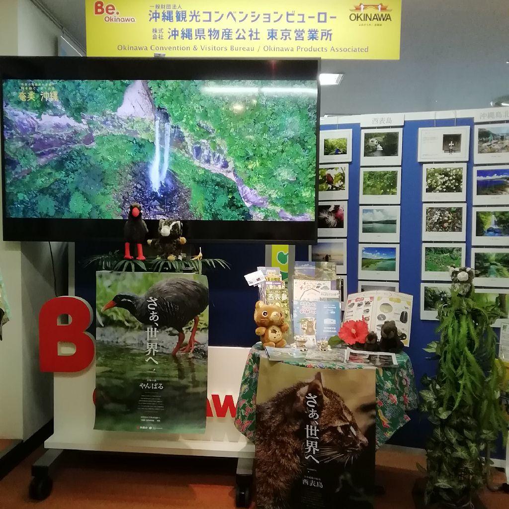 奄美沖縄世界自然遺産特設コーナー @OCVB東京事務所