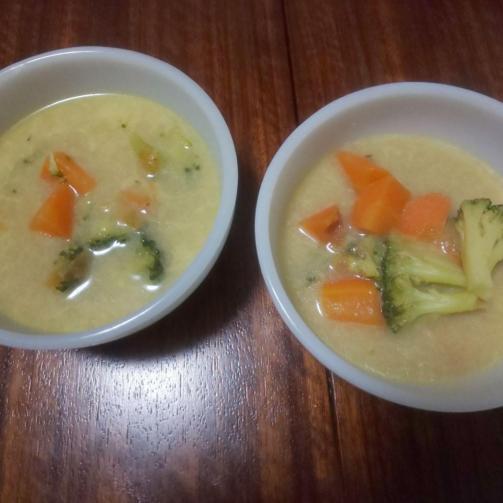メイン.8 ココナッツミルクのカレー風味野菜スープ
