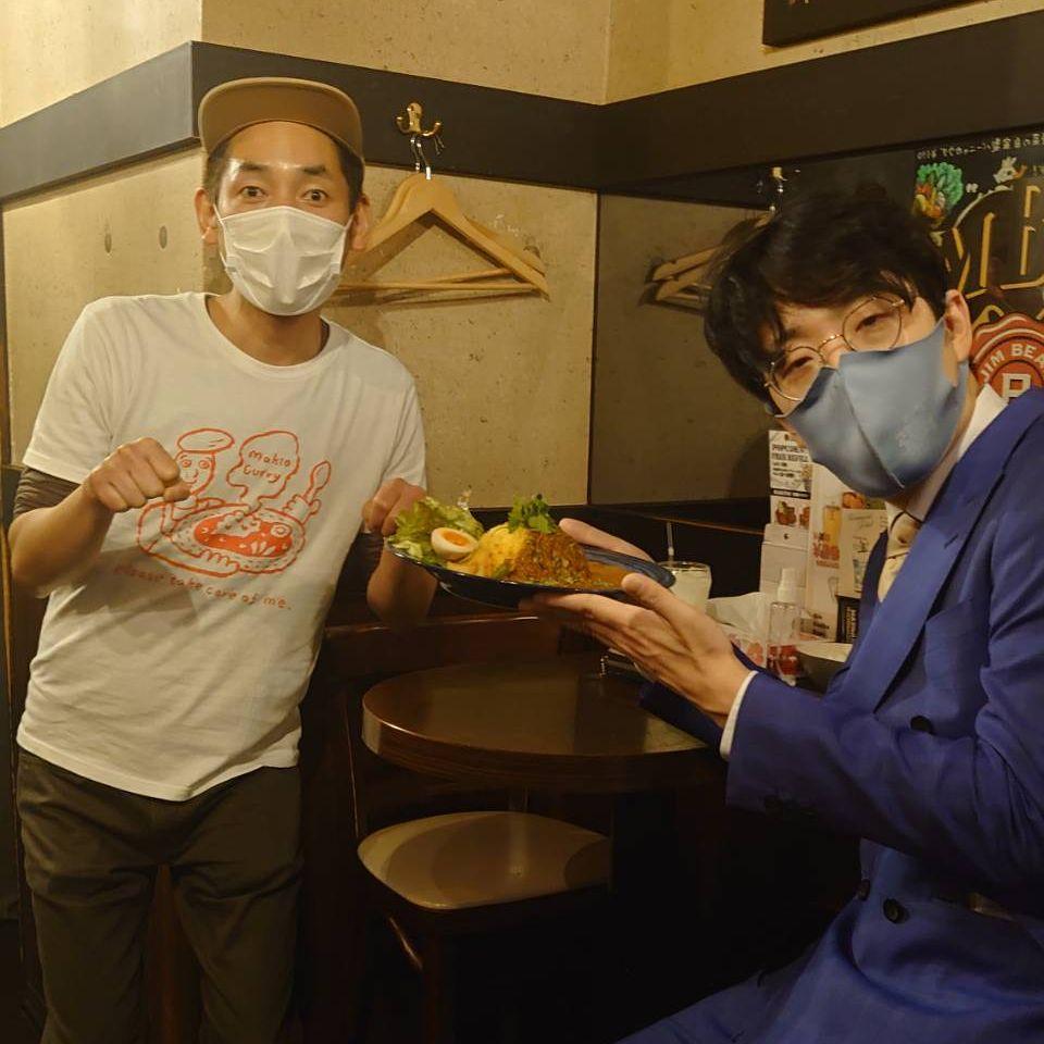 #134『ゆにばーす川瀬名人ご来店🍛』