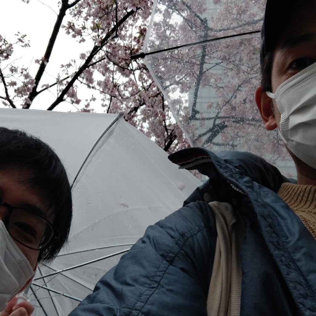 #222『うどん君と清和さんと傘』