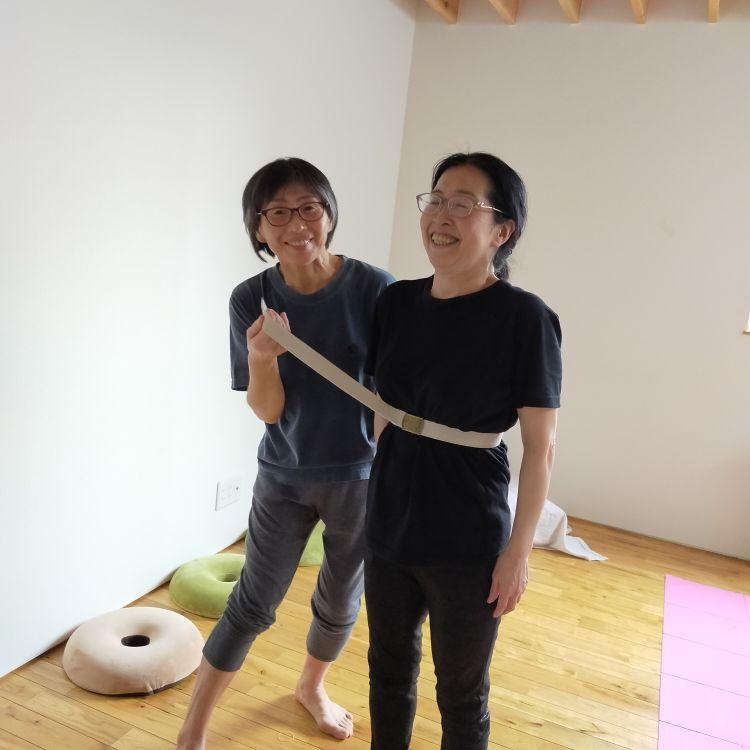 常松さんと梢さん 2週間で5センチくびれた