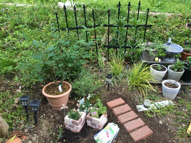 雑草と生きる庭づくり(冒頭鳥の声)