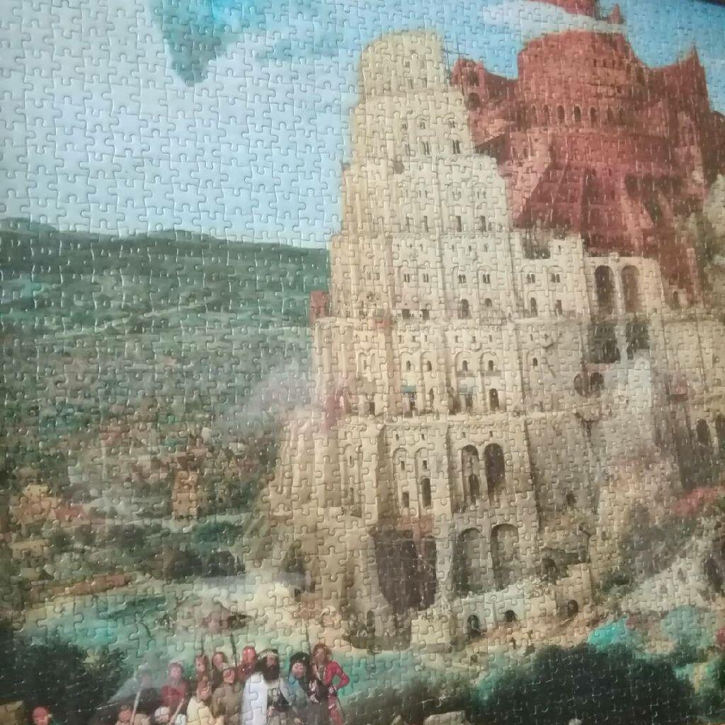 153 【水曜日】嵐の日に『バベルの塔』はいかが?