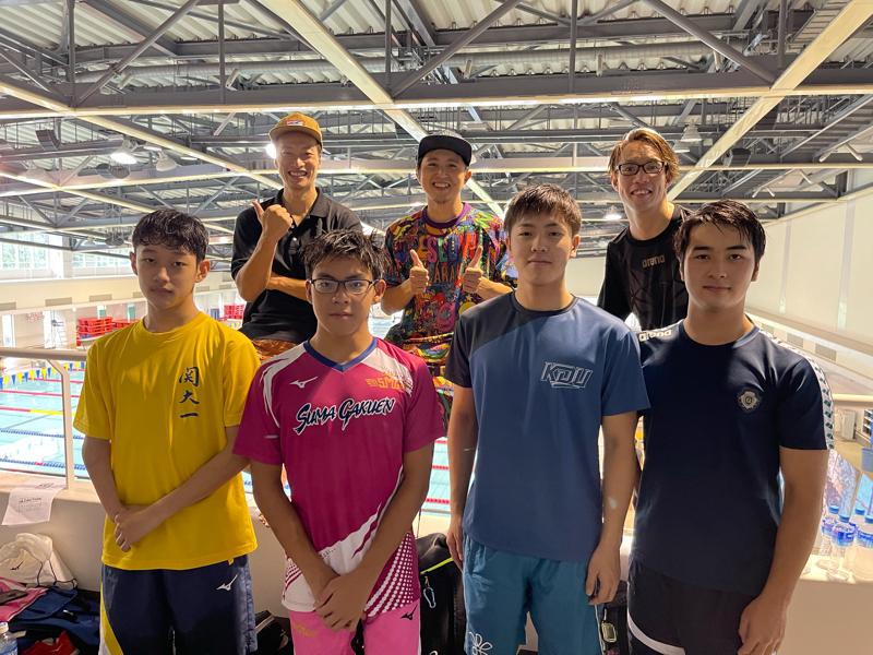 H2O SwimParty 2021 「Team PARA」で出場