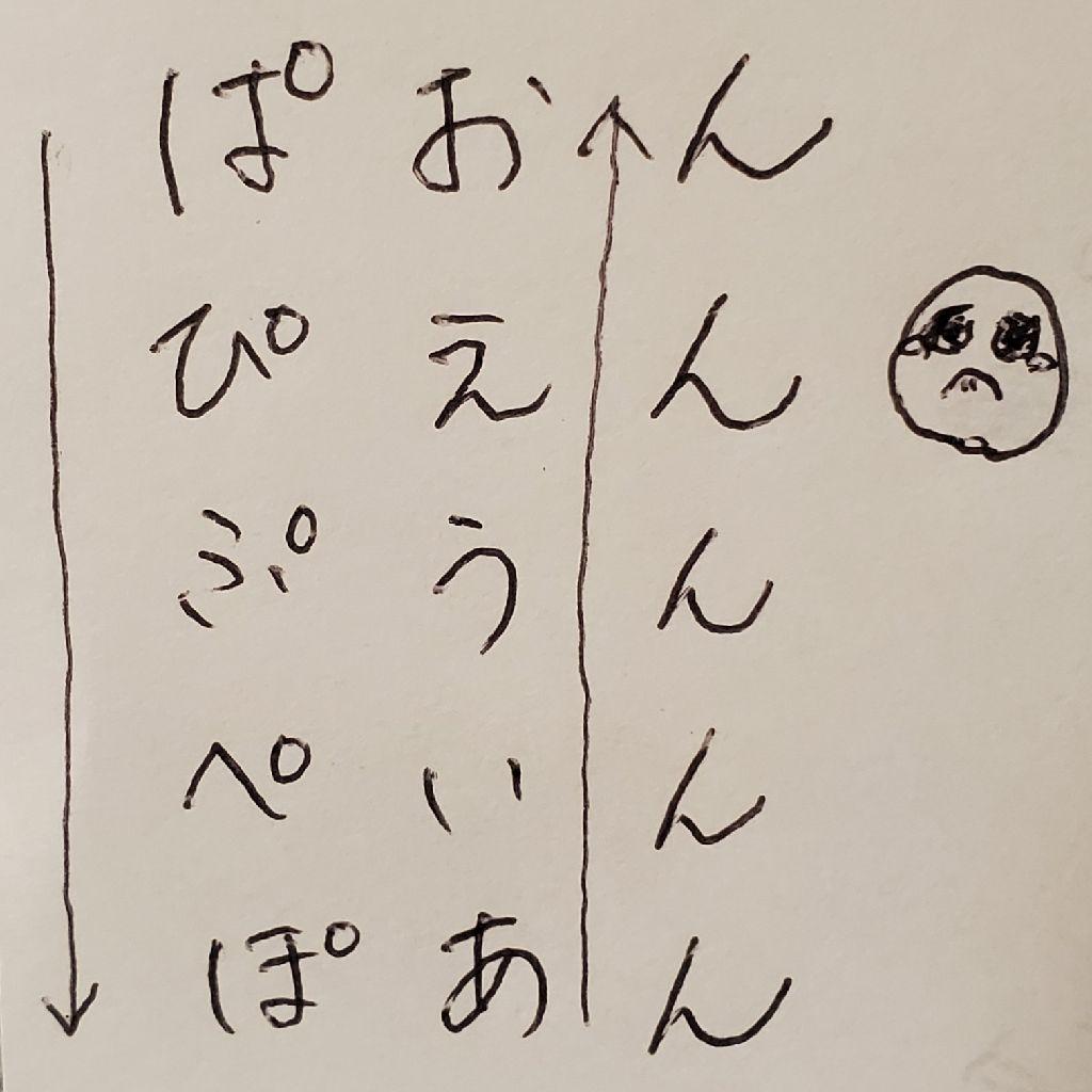 小話#1 ぴえん😢