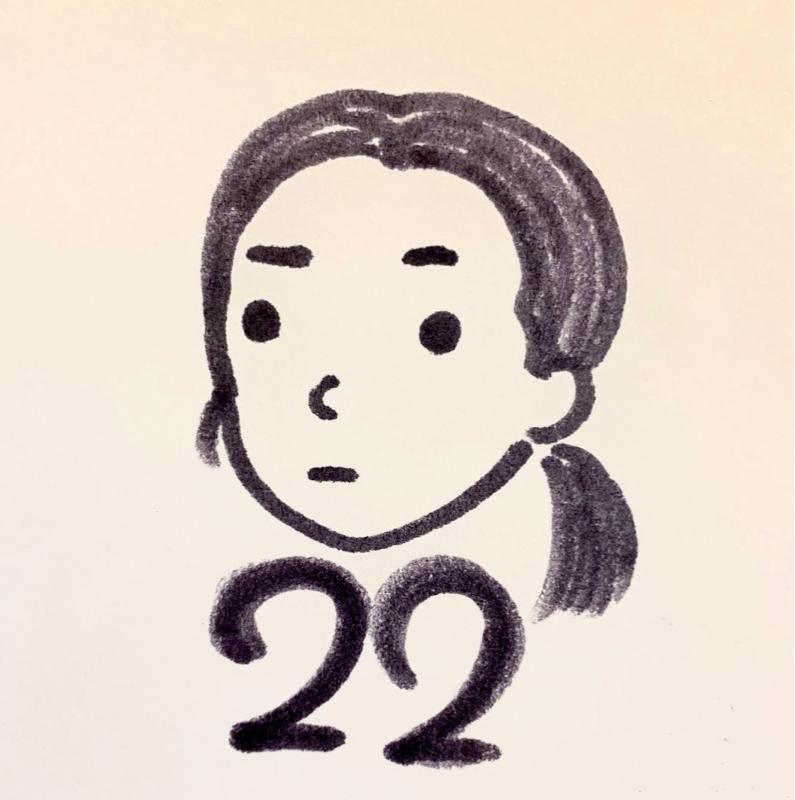 22歳。ニートではない。