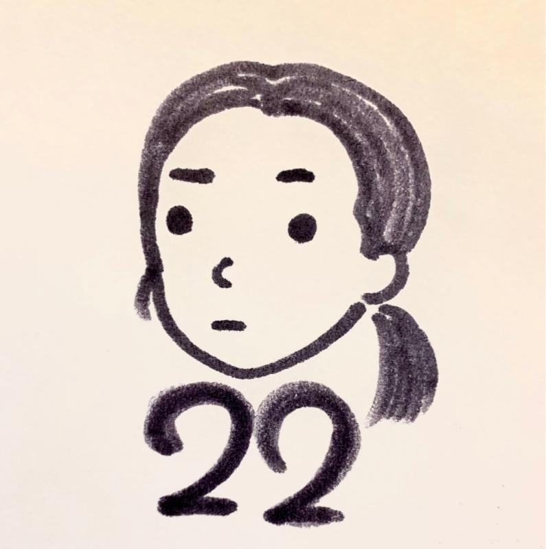 22歳、いじられキャラ。おしりが切れました。