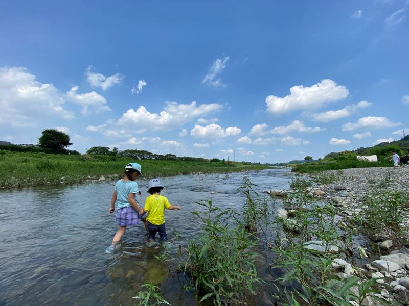 こどもと川遊びをしながら日本の未来を考えた #60