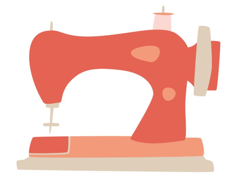 コンパニオンのトップスを縫いながらの配信