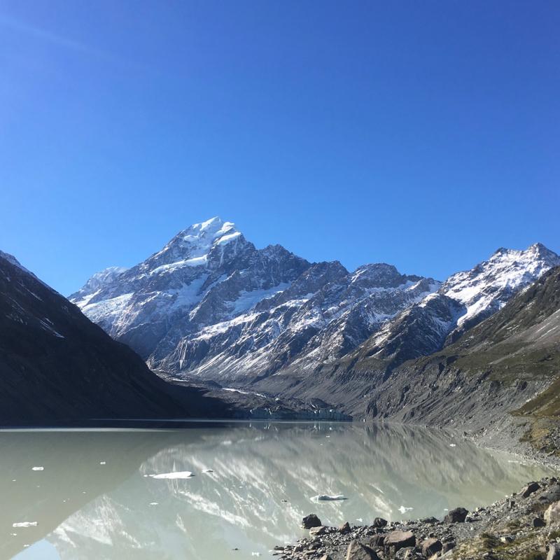 ニュージーランドの聖なる山