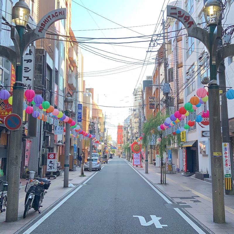 【行ってみた】宮崎一の繁華街 〜西橘通り(ニシタチ)とアーケード〜