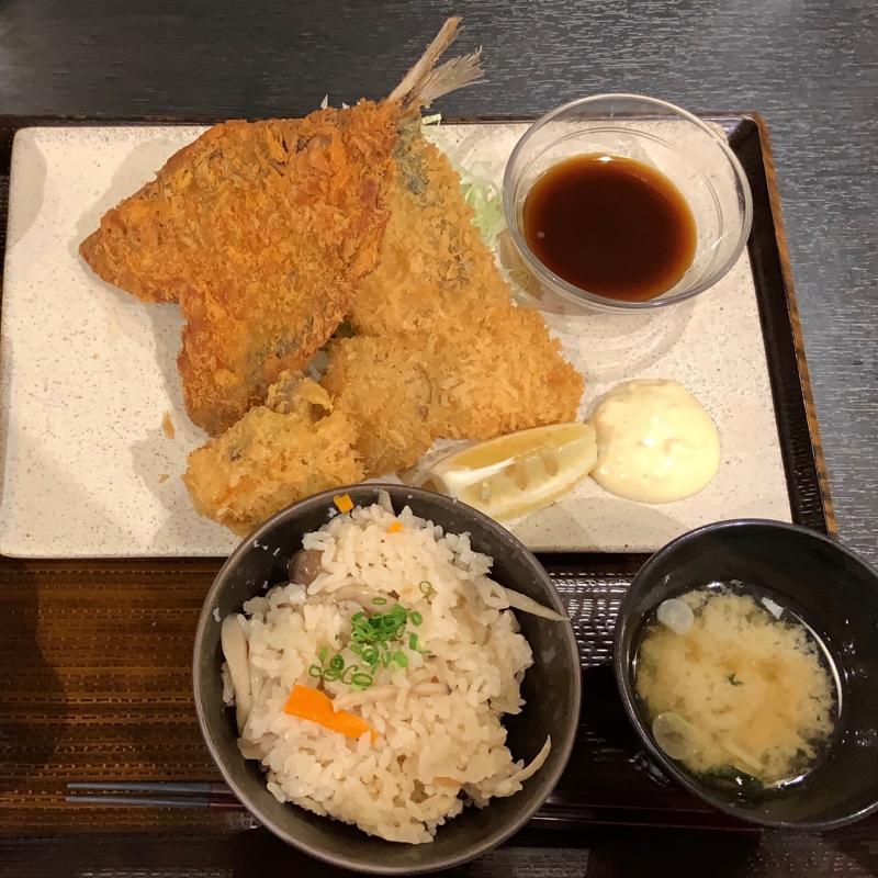 【秋田グルメ観光】駅チカで味わえる海の幸