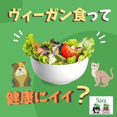 #366. 素朴な疑問:ヴィーガン食は健康に良い?(そしてペットにも?)