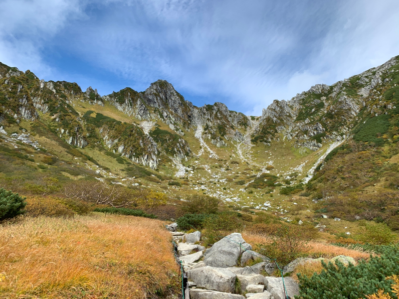 駒ヶ岳にある千畳敷で地形を見ていつも想う#021