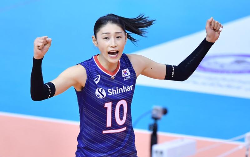 #123 オリンピック韓国代表団の旗手、バレー女帝のキム ヨンギョン選手
