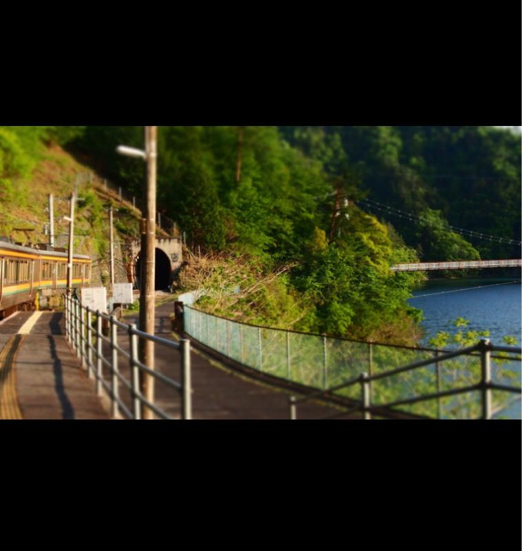 #1 川に浮かぶ?飯田線為栗駅 @らい の秘境駅3分トリップ