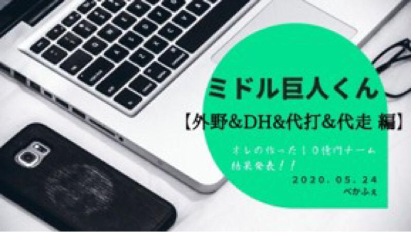 2021.05.07 【雨傘:オレの10億円チーム2020採点】 ④