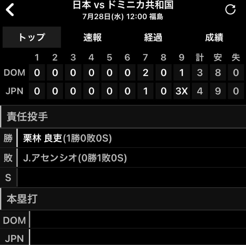 2021.07.29 【7/28:侍J、対ドミニカ戦勝利!巨人旋風炸裂!】