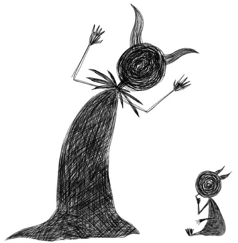 さきまちさんからの挑戦状:悪魔とチビちゃんと、月と踊る。