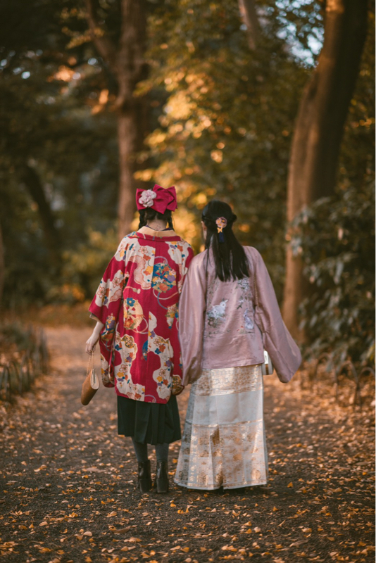 #41 外国人が着物を着るのは文化の盗用なの?という中国の女の子の質問について