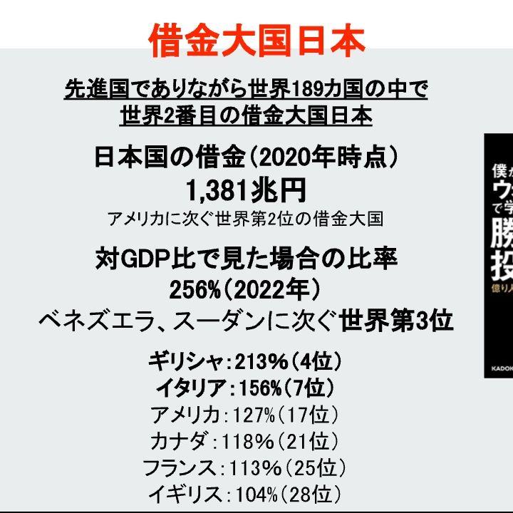 借金大国日本