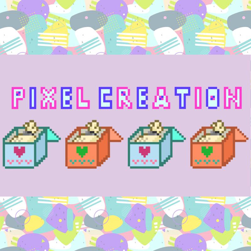 《#01》pixel creationへようこそ!