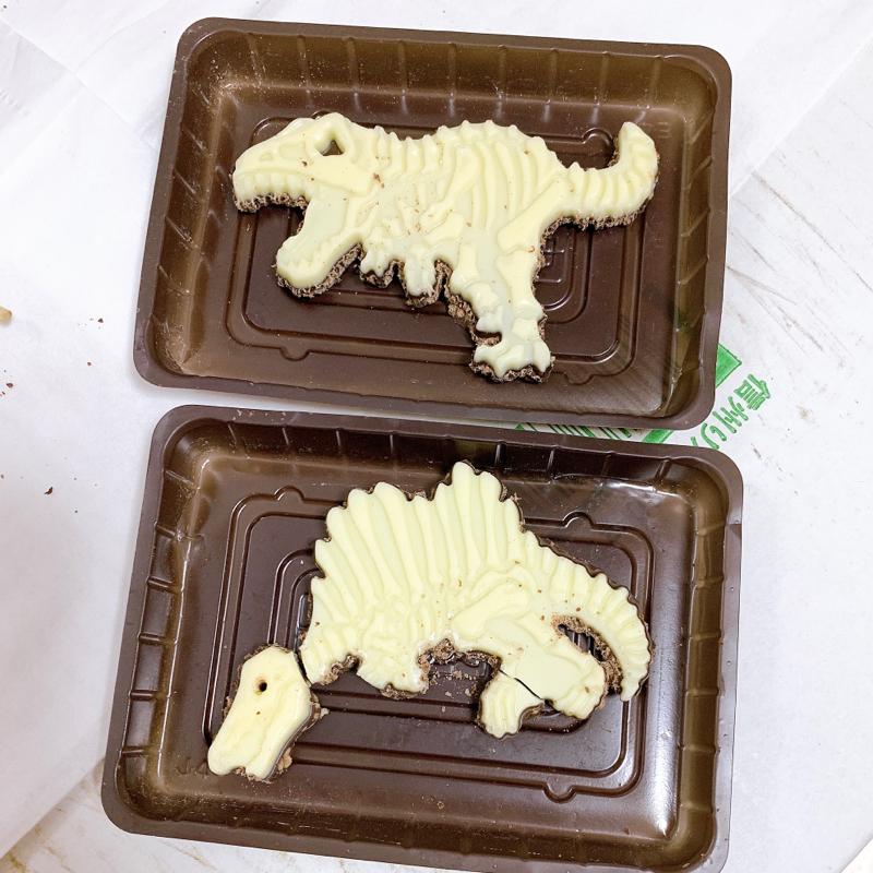 発掘恐竜チョコを妹と遊んでみたpart2