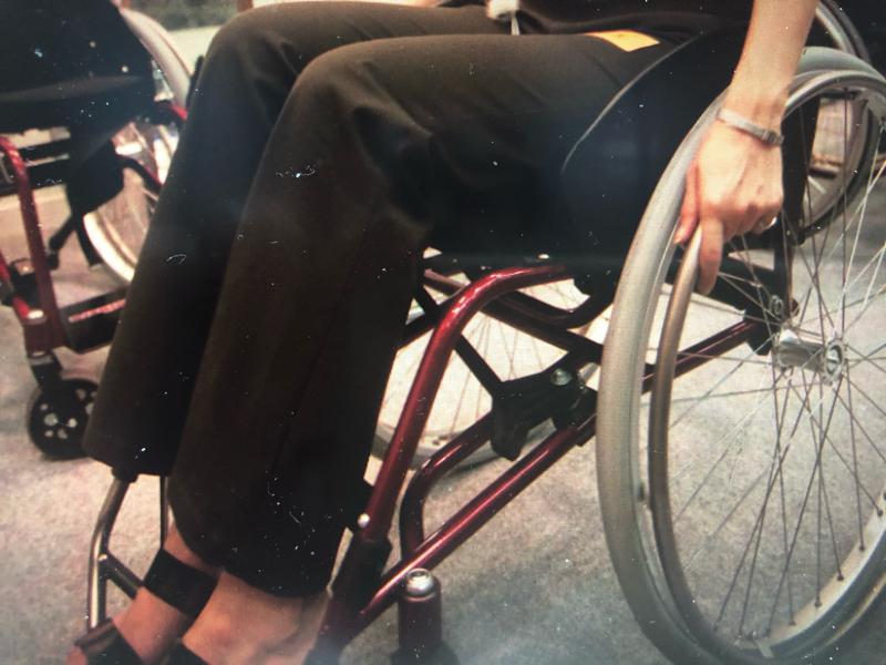 #070車椅子を却下したお役人/ユキちゃんとお話