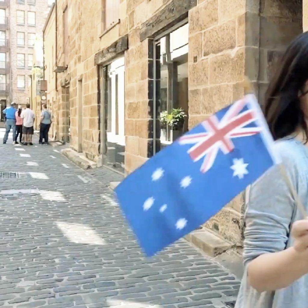 #175 オーストラリアでぞっとした話「足が…」