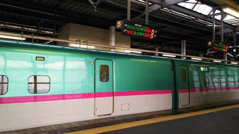 【失敗版】東北新幹線の車内アナウンス