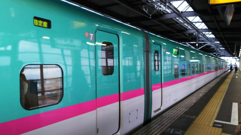 【成功版】東北新幹線の車内アナウンス