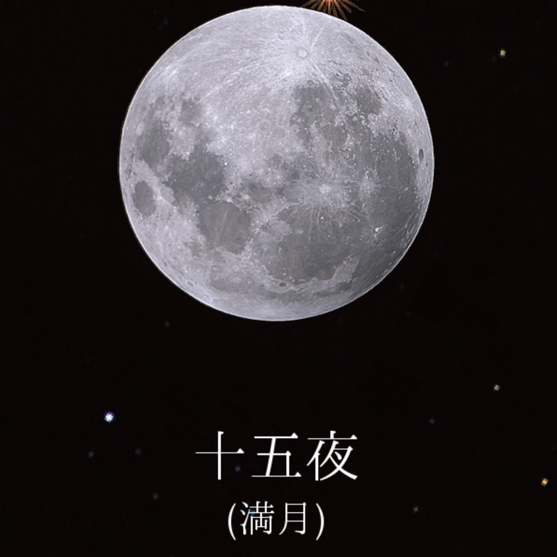 ♋️219:全然ピンクじゃない満月/月の水量は予想以上/竹の花/竹取物語