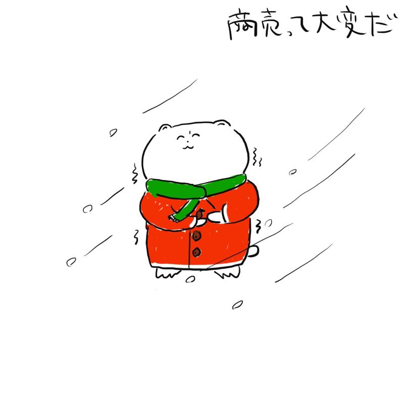 気温が低い、寒い日は飲食店の来客数は減る?昨日の実績から考えてみたって話
