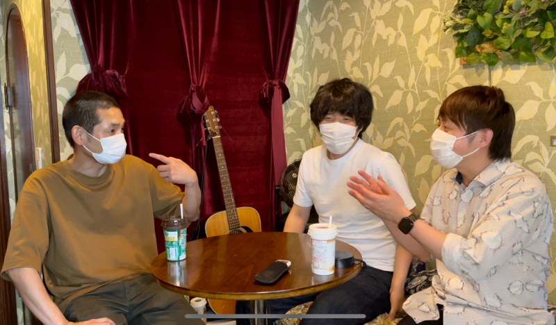 #092「うららかvol.5〜槙尾さん&しろうさん&新道さんとトーク〜」