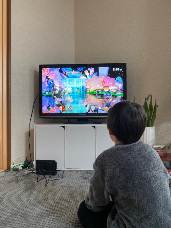 6歳児とスマブラ対決🎮